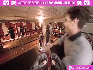 VR BANGERS Cougar ring girl fucks like a whore