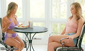 MommysGirl Step-Daughter Spied Alexis Fawx SQUIRTING